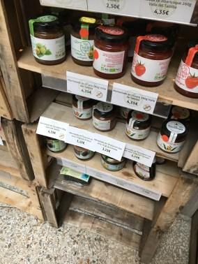 Angebot an Marmeladen
