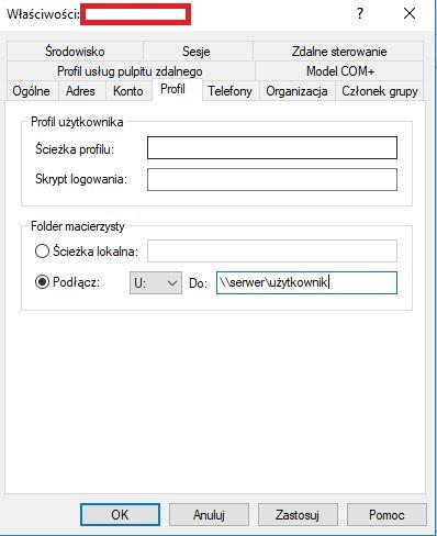 Usługi katalogowe Windows Active Directory i Linux Samba.