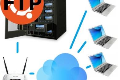Konfiguracja podstawowego serwera FTP na systemie Ubuntu.