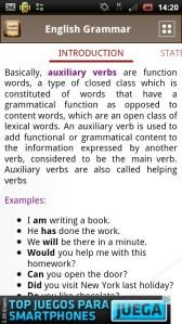 [Aplicación Android] English Grammar Book