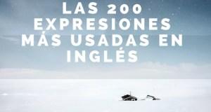 Las 200 expresiones más usadas en inglés