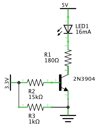Putting the GPIO pin behind transistor to get more current