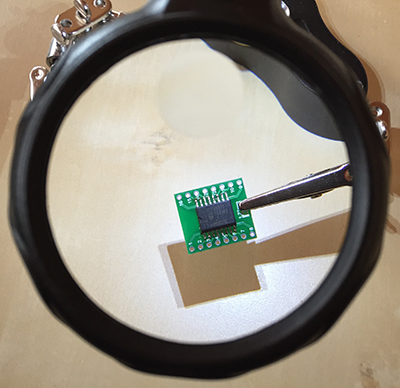 PCF8591Magnifier