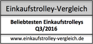 Beliebtesten Einkaufstrolleys Q3/2016