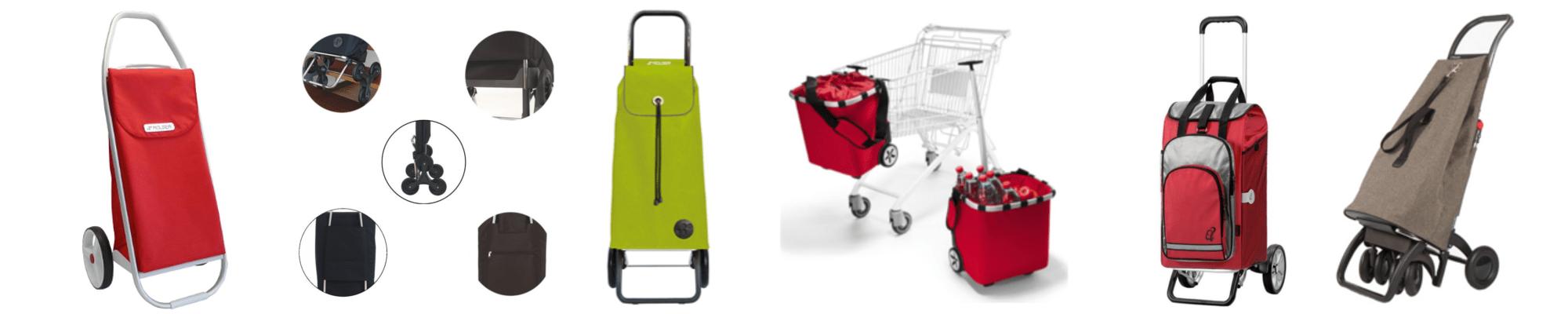 Einkaufstrolley-Vergleich