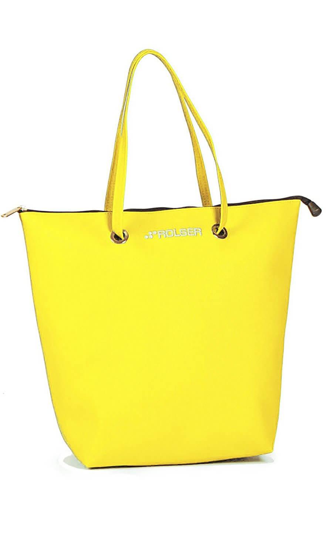 ROLSER Shopping Bag SUPERBAG gelb| Einkaufstrolley-Vergleich.de