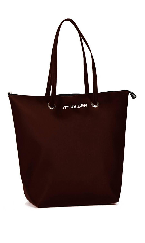 ROLSER Shopping Bag SUPERBAG schwarz| Einkaufstrolley-Vergleich.de