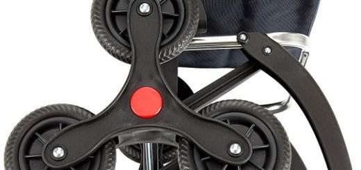 Rolser Treppensteiger RD6/PARIS MF Räder Detail 1 Marengo Slider - Einkaufstrolley-Vergleich.de