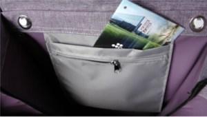 ROLSER Einkaufsroller COM Tweed 8 Innentasche - Einkaufstrolley-Vergleich.de