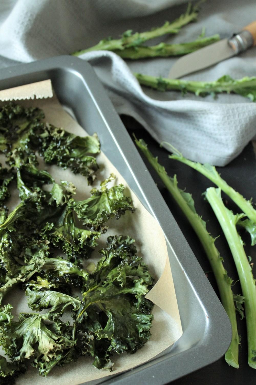 Grünkohl-Chips von Einmal Nachschlag, bitte | Foto: Linda Katharina Klein