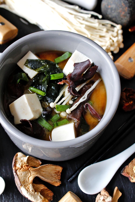 Rezept für vegane Miso-Suppe von Einmal Nachschlag, bitte!