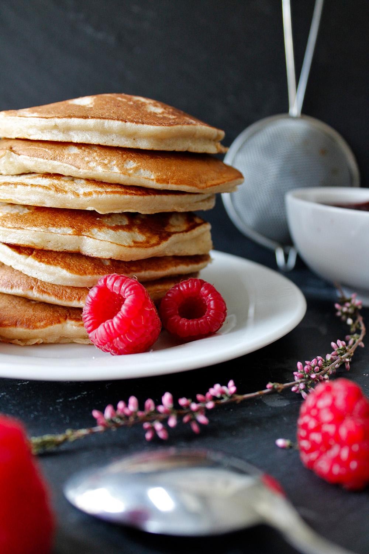 Rezept für fluffige Pfannkuchen von Einmal Nachschlag, bitte!