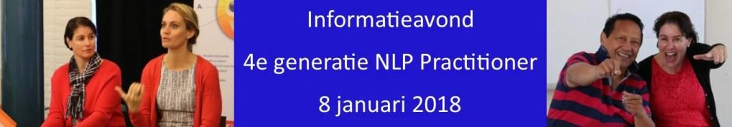 informatieavond 4 generatie nlp practitioner
