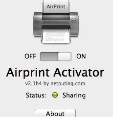 Airprint Activator - ON