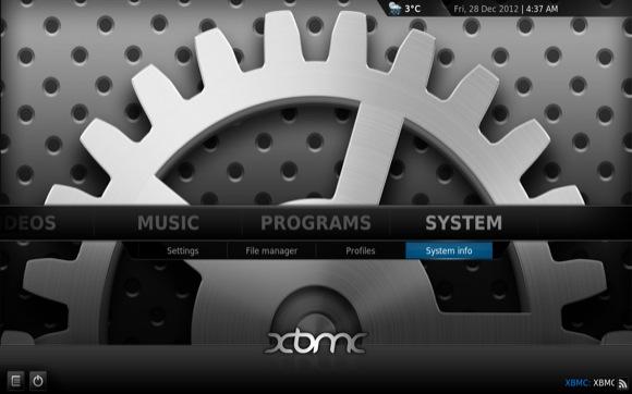 XBMC System Info