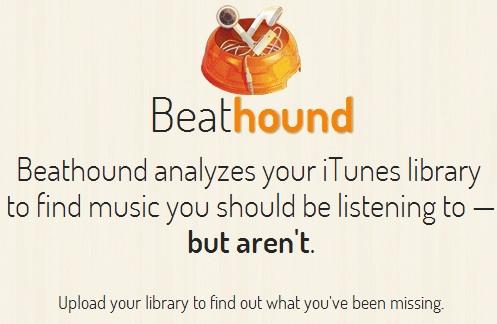Beathound - Vefsíða vikunnar