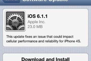 iOS - 6.1.1