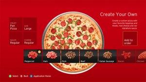 Pizza Hut appið á Xbox 360