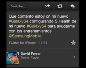 David Ferrer iPhone