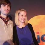 David Karp & Marissa Mayer