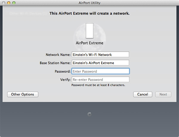Airport Extreme - Skref 2