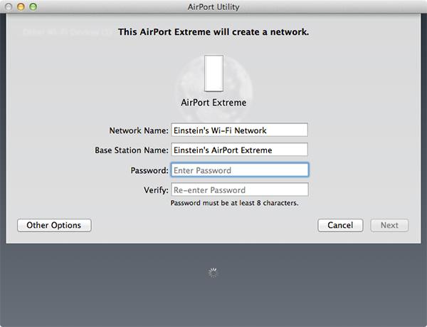Airport Extreme - Skref 2