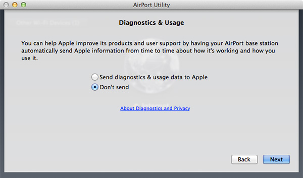 Airport Extreme - Skref 4