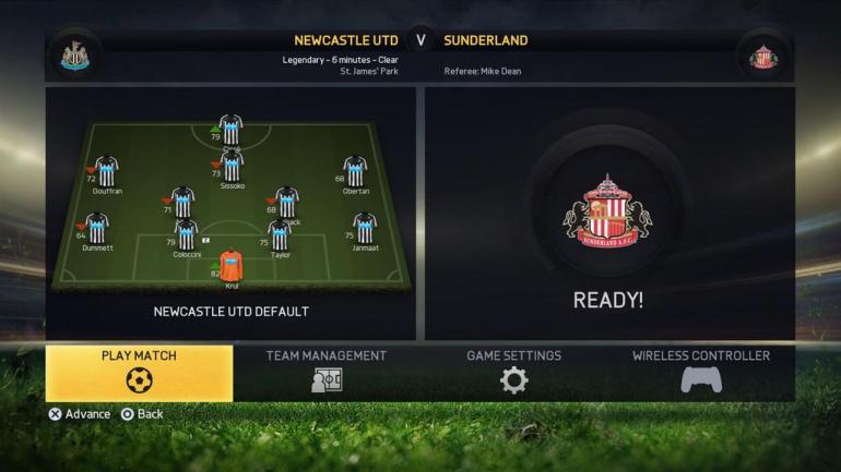 FIFA 15 - Stillingar