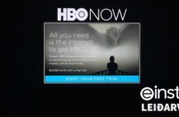 HBO NOW - Leiðarvísir