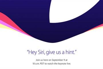 Apple viðburður - september 2015