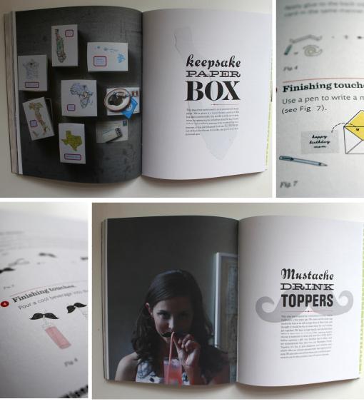 PaperCraft, Papierbuch, Papier DIY