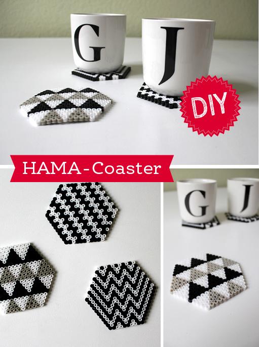 DIY: HAMA-Coaster