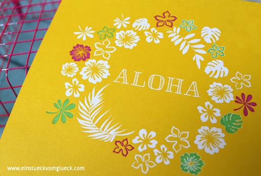 Hochzeitseinladung Design Letterpress