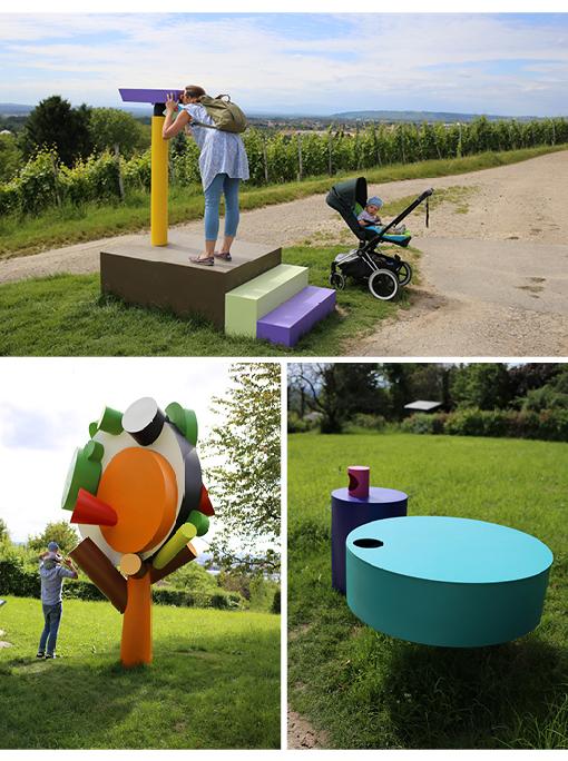 Kunst und Baby, Kunstspaziergang, Weil am Rhein