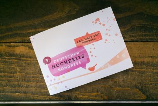 Deutscher Hochzeitskongress, Corporate Design, Herzlichst, Hochzeitspapeterie