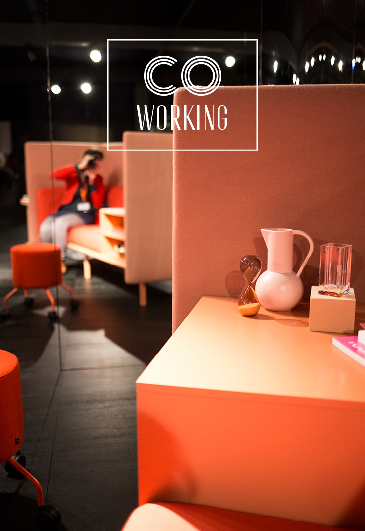 Cor coworking, Coworking Lab, Interieurtrend, Wohntrend, Imm Cologne 2018