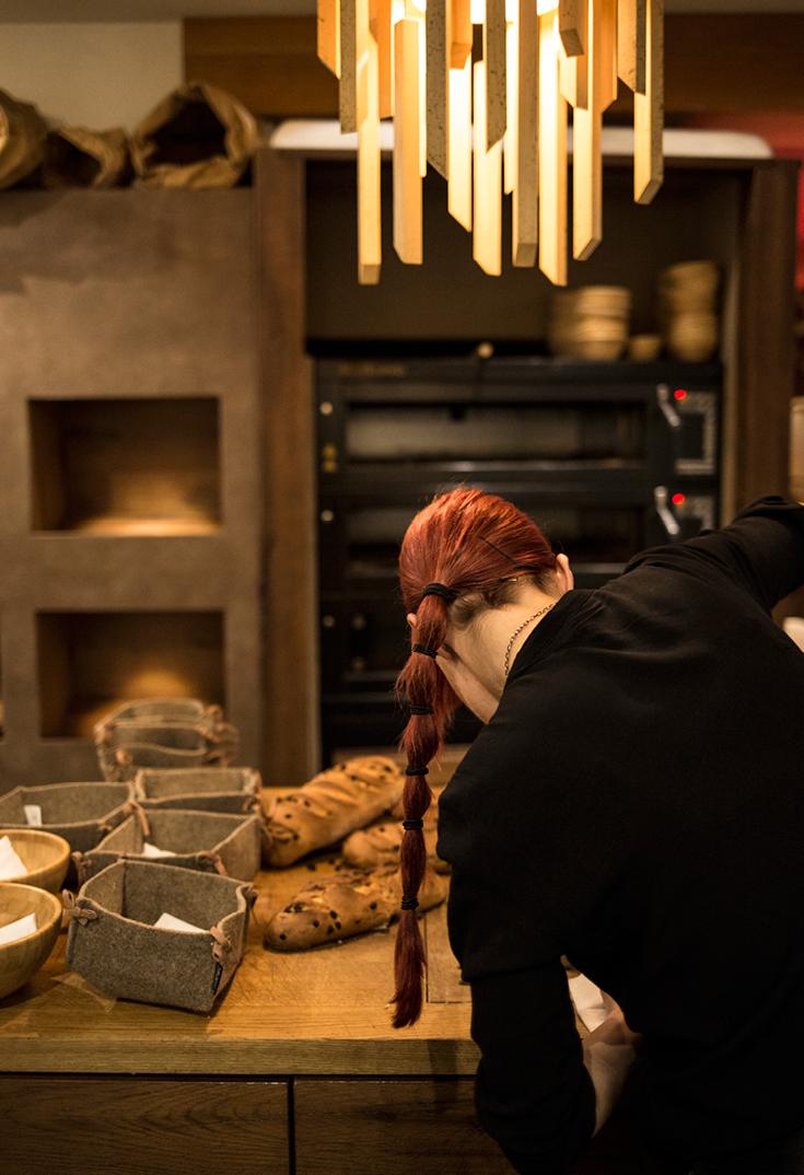 selbstgemachtes Brot, Forsthofalm, 5-Gänge Menü