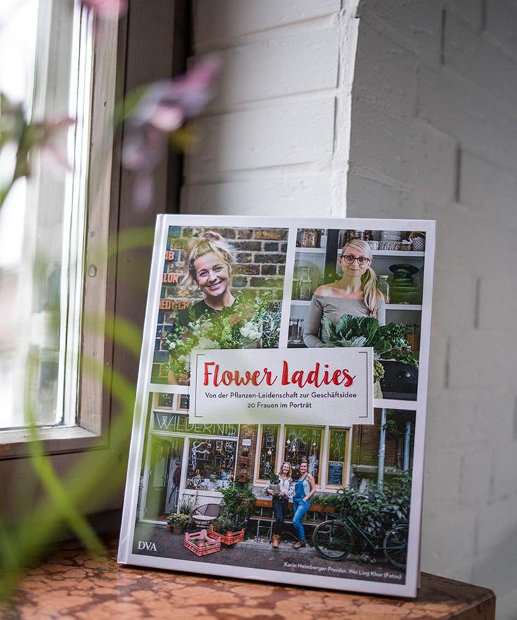 Flower Ladies, Buch, Buchvorstellung, DVA, Liebe zu Blumen