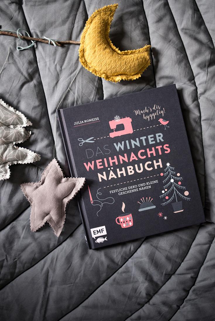 WinterWeihnachtsnähbuch, Nähen zu Weihnachten, Adventsideen Nähen, EMF, Edition Michael Fischer, Autor Julia Romeiss