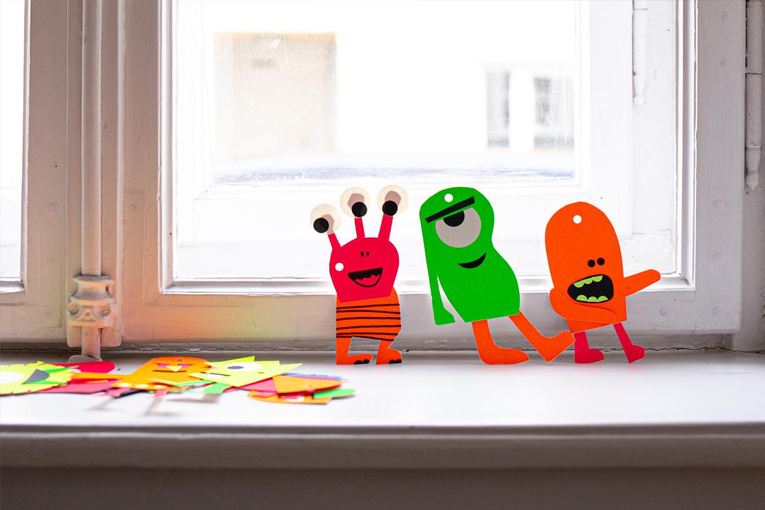 stay at home diy, einfache bastelideen, upcycling, basteln mit kindern