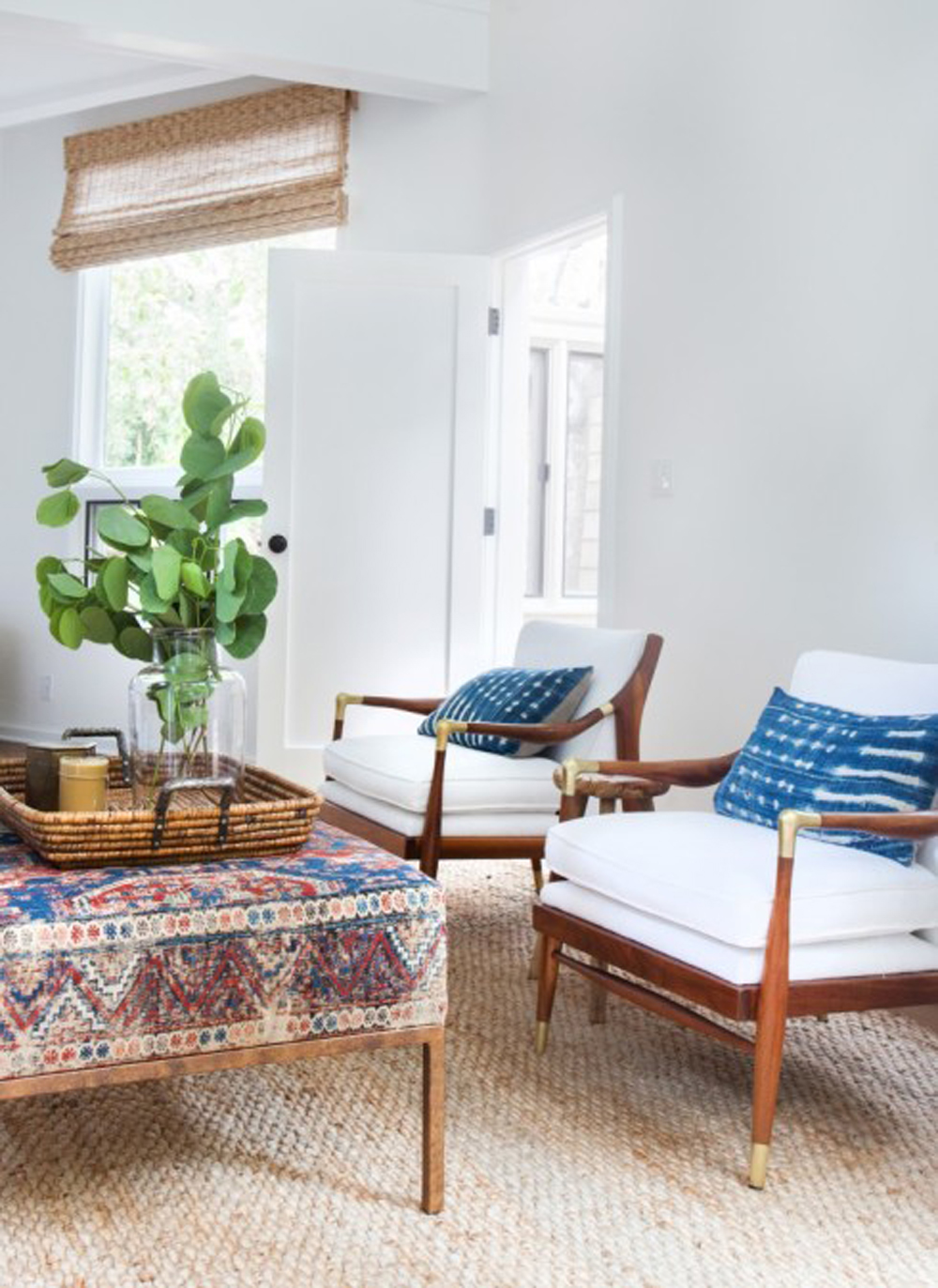 JUTE RUG LAYERING Featured By Popular Home Interior Design, E. INTERIORS