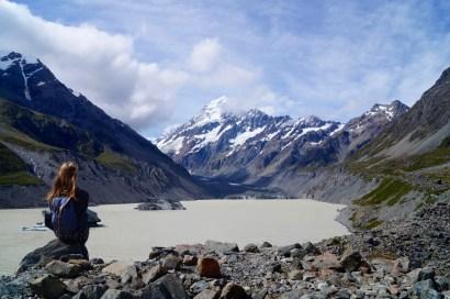 Wanderung zum Gletschersee