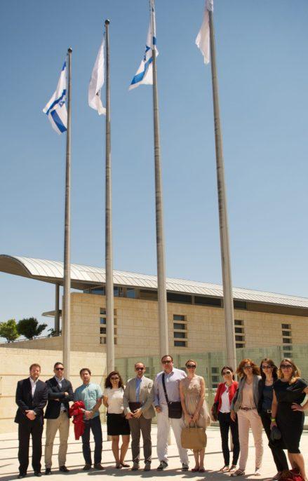 Briefings at the MFA, Jerusalem