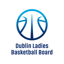 Dublin Ladies Basketball Board Logo