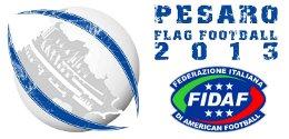 EFAF European Flag Football Championships Pesaro 2013 Logo