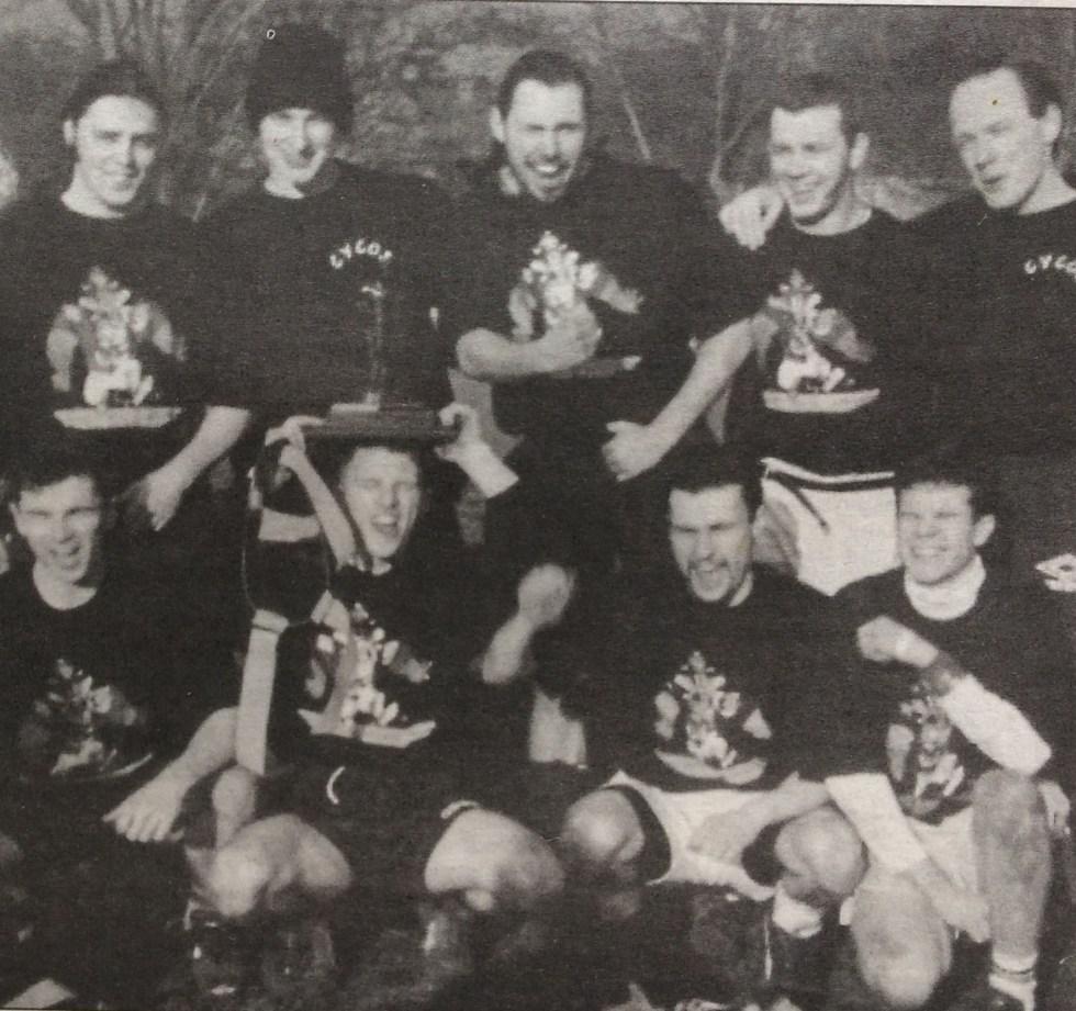 Drimnagh Cycos IFFA Dublin Flag Football League Champions 1995-96