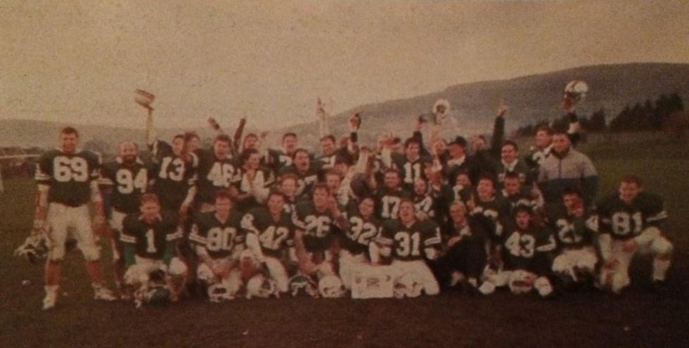 Dublin Celts Shamrock Bowl IV Champions 1989