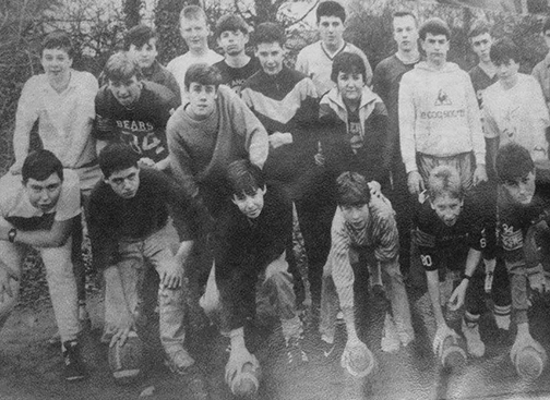 Prospect Pumas Two-Touch Junior American Football Team 1986[Picture Credit: Andrew Wilson]