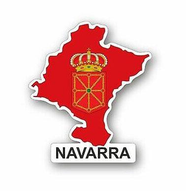 Navarra Flag & Map