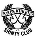 Kyles Athletic Shinty Club Logo